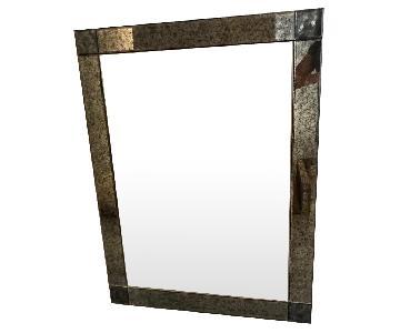 Restoration Hardware Palazzo Antiqued-Glass Mirror