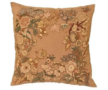Sferra Embroidered Throw Pillow
