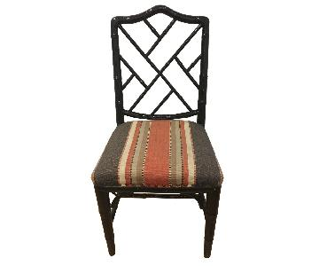 Vintage Bamboo Dining Chairs