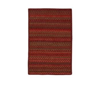 Crate & Barrel Autumnal Braided Area Rug