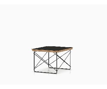 Herman Miller Eames Wire Base Low Table w/ Black Top