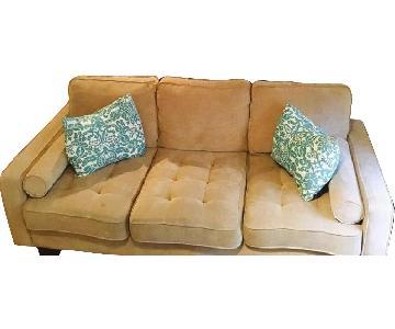 Bob's Tufted 3-Seater Sofa