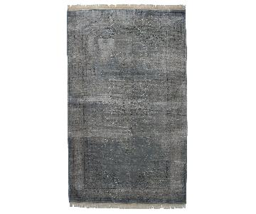 Anthropologie Overdyed Awash Rug