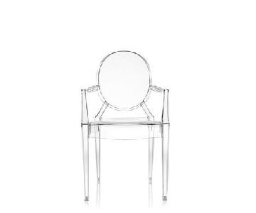 Kartell Philippe Starck Ghost Chairs