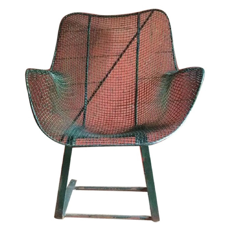 Russel Woodard High Back Rocking Armchairs