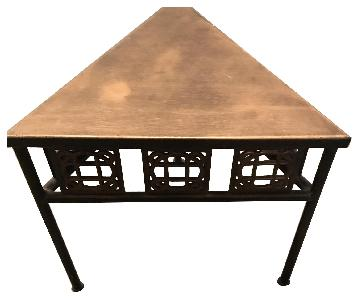 Metal Triangle Display Tables