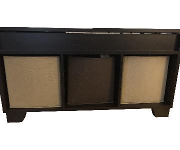 Espresso Bench w/ Storage