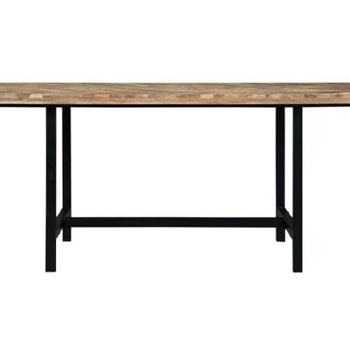 Used Coaster Natural Wood Dining Table for sale on AptDeco