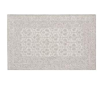 Pottery Barn Braylin Tufted Wool Rug in Grey