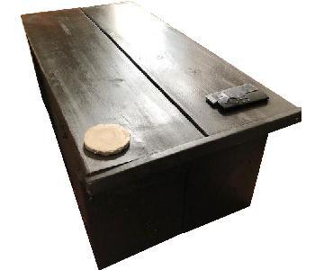 Handmade Refurbished Wood Modern Rustic Coffee Table