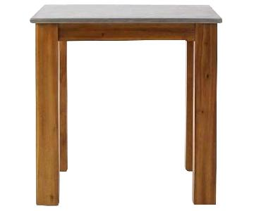 West Elm Rustic Kitchen Square Dining Table