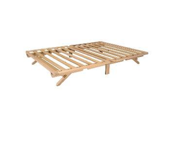 Wood Full Size Platform Bed