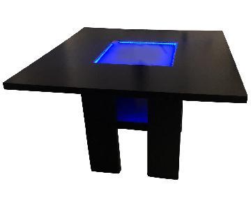 Furniture of America Luminar II LED Dining Table