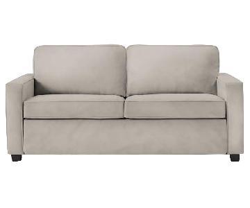 West Elm Dove Grey Henry Sleeper Sofa