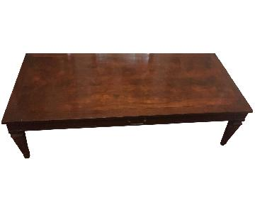 Thomasville Vintage Coffee Table + 2 End Tables