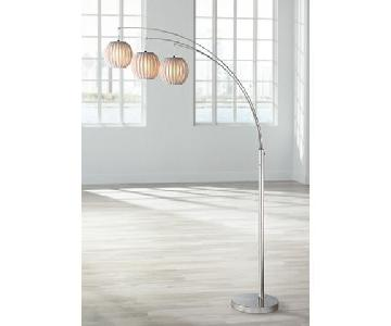 Lite Source 3-Lite Arch Floor Lamp