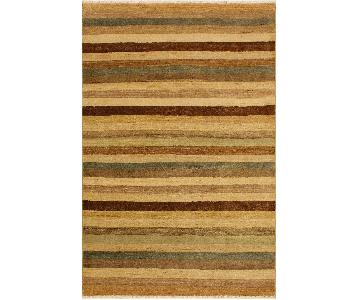 Arshs Fine Rugs Gabbeh Edythe Red/Green Wool Area Rug