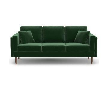 Inmod Sadie Velvet Sofa