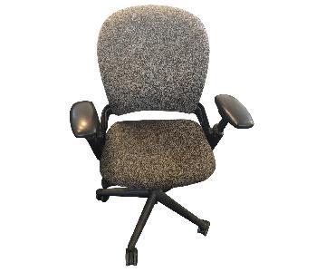 Steelcase Office Rolling Chair in Dark Gray