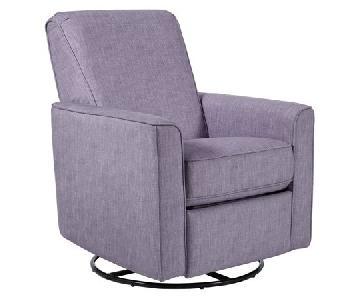 Pulaski Harmony Swivel Glider Chair in Carlton Dove