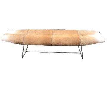 Modern Hide Bench