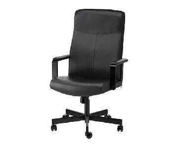Ikea Millberget Swivel Chair in Bomstad Black