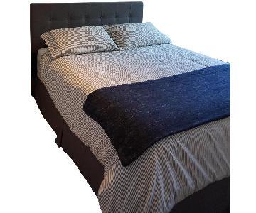 Queen Bed Frame w/ Headboard