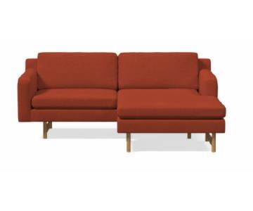 West Elm Eddy Reversible Sectional Sofa