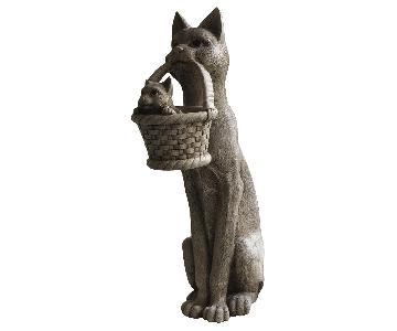 Standing Cat Sculpture
