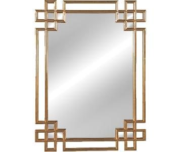 Willa Arlo Interiors Art Deco Style Wall Mounted Mirror