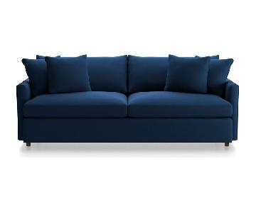 Crate & Barrel Lounge II Sofa & Ottoman
