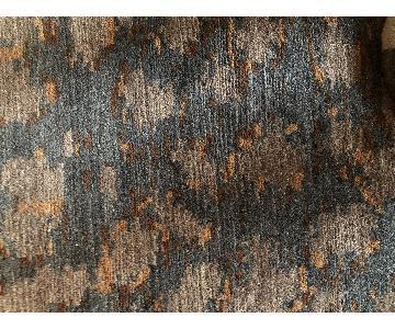 ABC Carpet and Home Blue/Mauve & Sand Rug