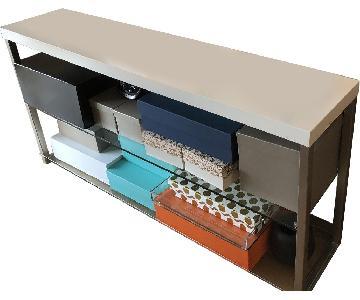 BoConcept Glass & Lacquer Shelves