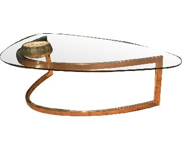 Milo Mid Century Modern Coffee Table