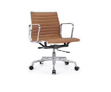 Modern Classics Eames-Style Leather Office Chair