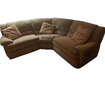 Bob's Pacifica Sectional Sofa w/ 2 Reclining Seats