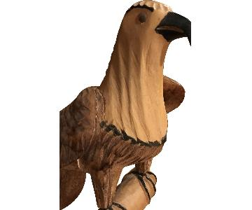 Vintage American Bald Eagle Statue