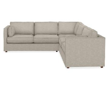 Room & Board Watson 3-Piece Sectional Sofa