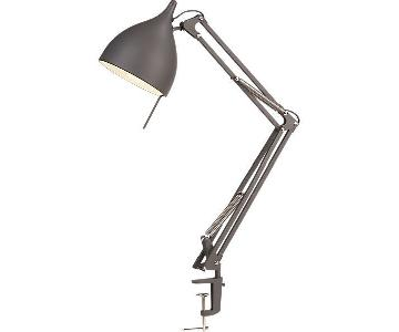 CB2 Carpenter Lamp in Carbon Gray