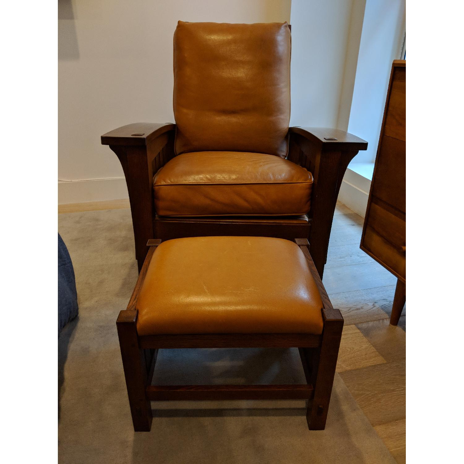 Stickley Bow Arm Morris Chair - image-2
