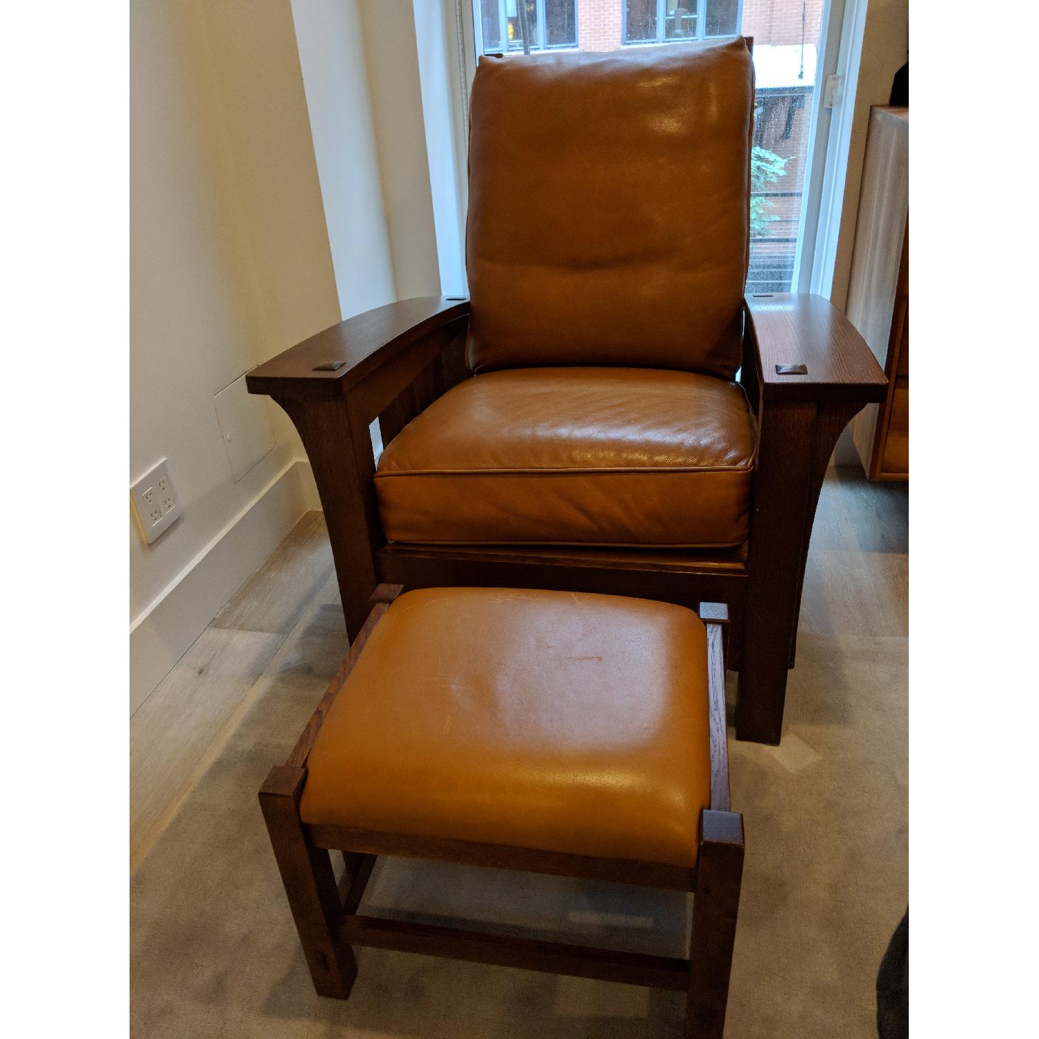 Stickley Bow Arm Morris Chair - image-4