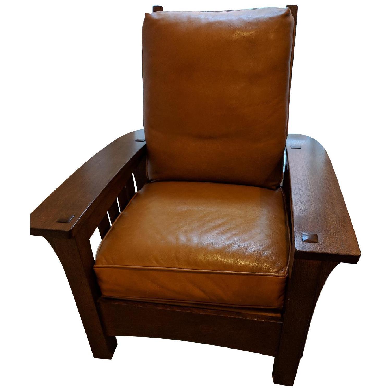 Stickley Bow Arm Morris Chair
