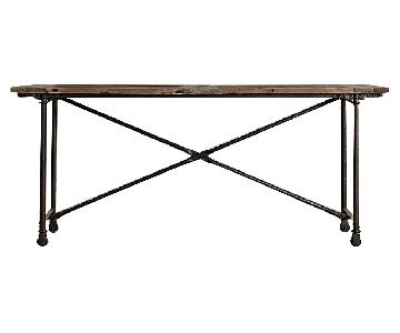 Restoration Hardware Flatiron Bar Table ...