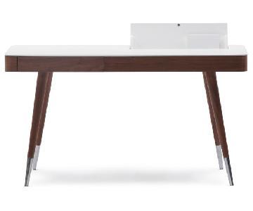 J&M Furniture Calla Modern Writing Desk