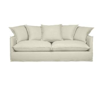 Crate & Barrel Oasis Slipcovered Sofa