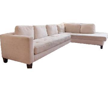 Jonathan Louis Modern Sectional Sofa w/ Chaise