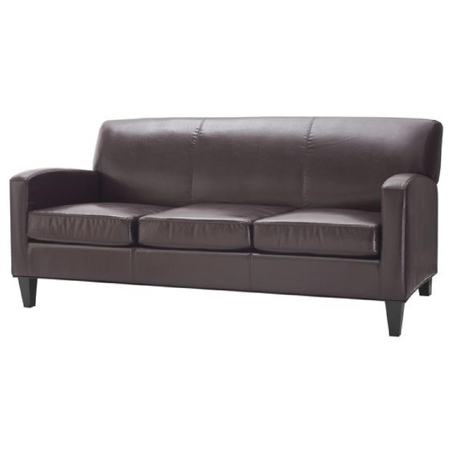 Ikea Jappling Faux Leather Sofa ...