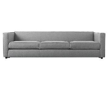 CB2 Club 3-Seater Sofa in Grey