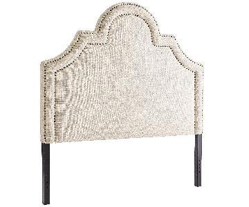 Pier 1 Ella II Natural Upholstered Headboard
