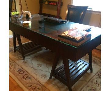 Hooker Furniture Espresso Cherry Desk